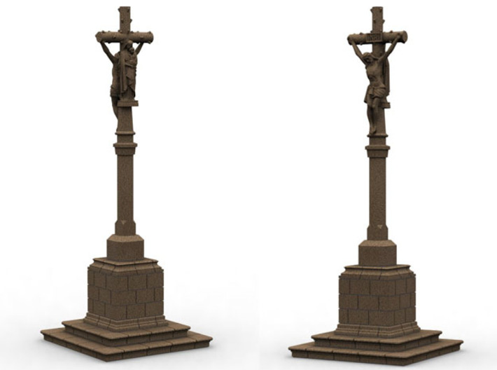ORelCal02 - Calvary of Brittany 3d printed