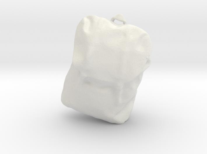 Printle Thing Back Bag 1/24 3d printed