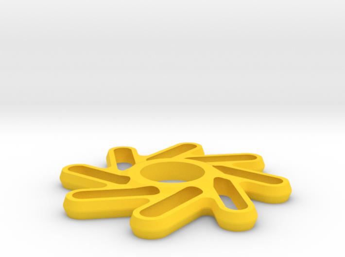 Perpetuum Fidget Spinner 3d printed