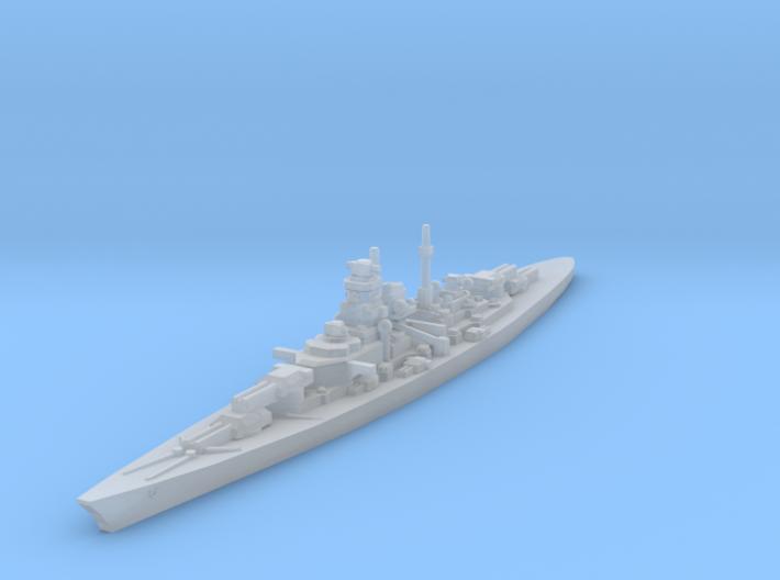 Bismarck 1/4800 3d printed