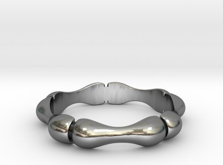 Bamboo Ring 3d printed