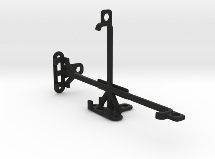 QMobile Linq L15 tripod & stabilizer mount 3d printed