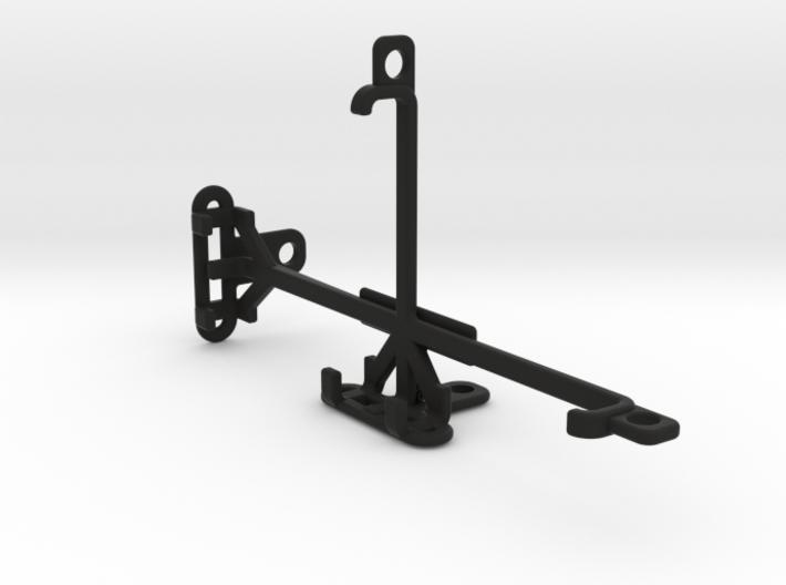 QMobile Noir LT150 tripod & stabilizer mount 3d printed