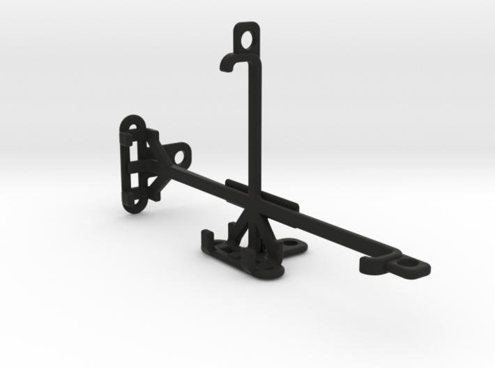 QMobile Noir LT250 tripod & stabilizer mount 3d printed