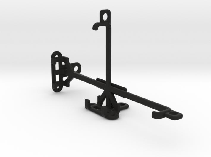 QMobile Noir M300 tripod & stabilizer mount 3d printed