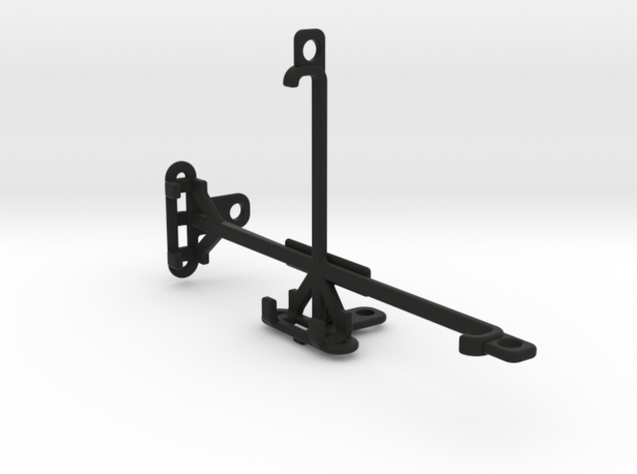 Yezz Monte Carlo 55 LTE tripod & stabilizer mount 3d printed