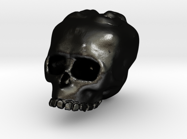 Skull13 Charm 3d printed