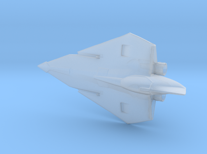 1/144 Delta 7 Jedi Space Interceptor 3d printed