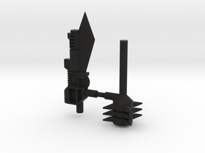3mm Grimlock Historic Weapons 3d printed