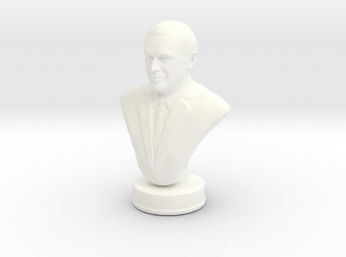 Erdogan portrait bust miniature 3d printed