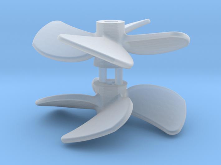 SMIT BRONCO propeller (2pcs) 3d printed