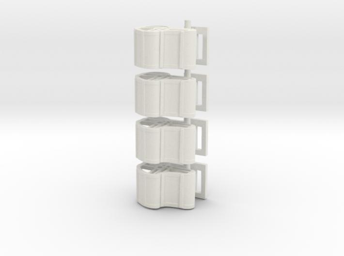 Zipper4pack 3d printed