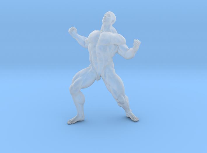 Mini Strong Man 1/64 004 3d printed