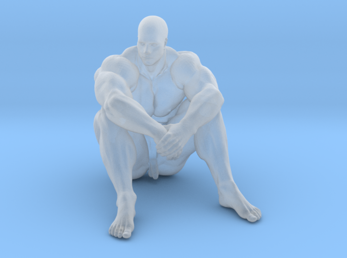 Mini Strong Man 1/64 014 3d printed