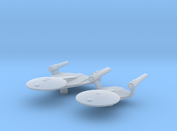 Planet of the Titans Study 1+2 1/7000 Attack Wing 3d printed