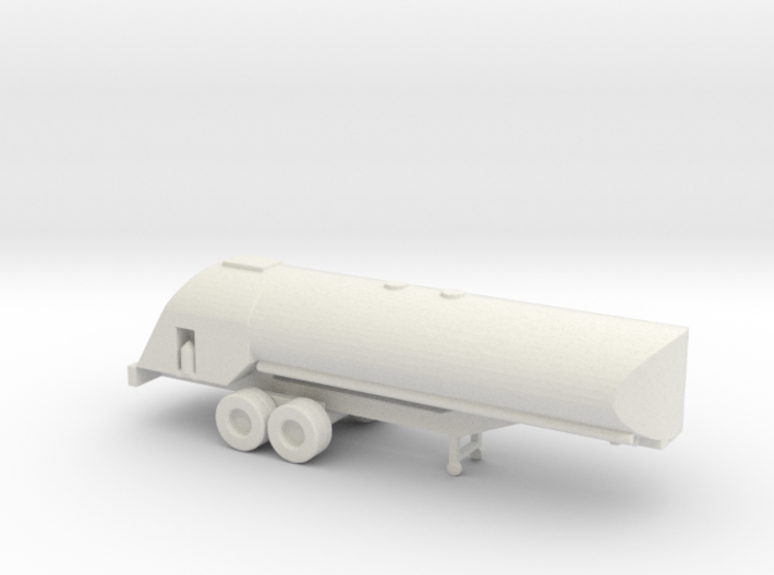 1/200 Scale USAAF Airfield Tanker Trailer 3d printed