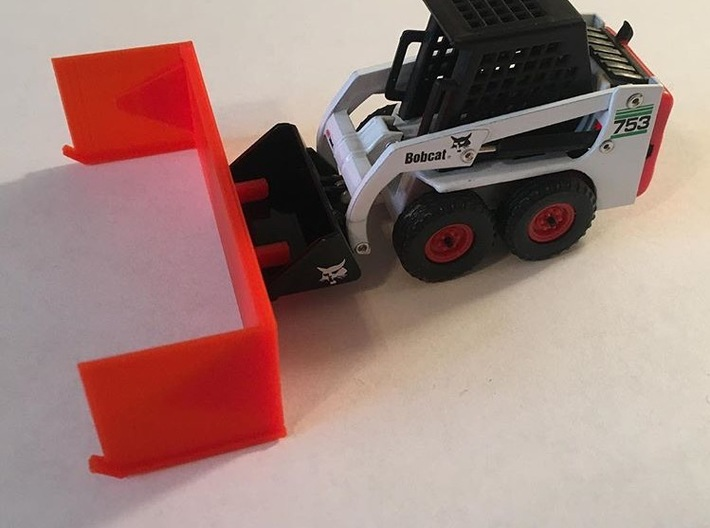 12 Foot Snow Pusher 1:50 Scale 3d printed
