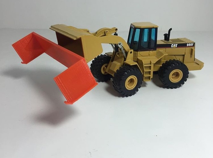 20 Foot Snow Pusher 1:50 Scale 3d printed