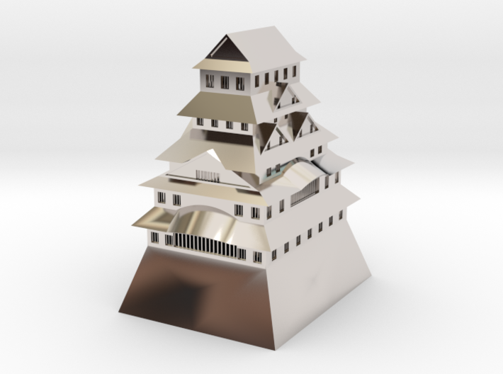 Himeji Castle 3d printed