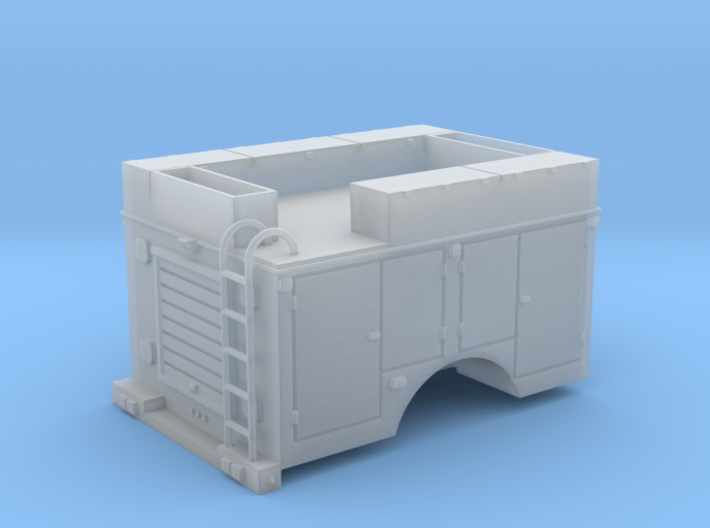Pickup Rescue Truck 1-64 Scale 3d printed