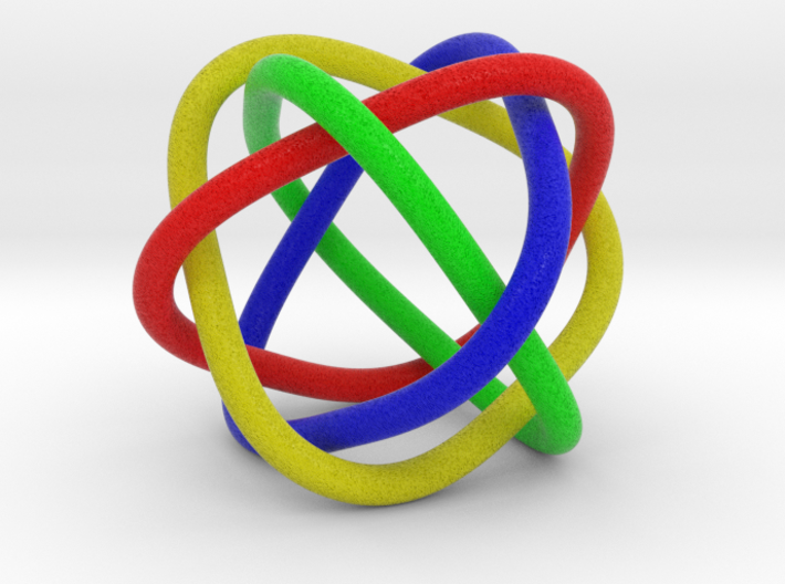 4 rings 3d printed