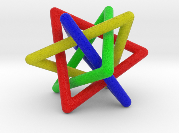 4 triangles 3d printed