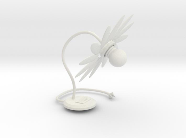 105102342:Flowers of modeling lights 3d printed