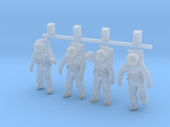 1: 72 Apollo Astronaut a7lb Type / Combo 3d printed