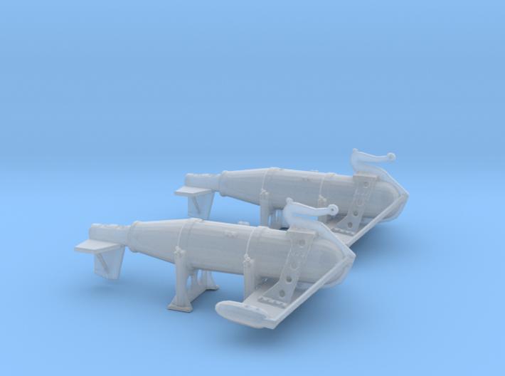 1/150 IJN Paravane V3 3d printed