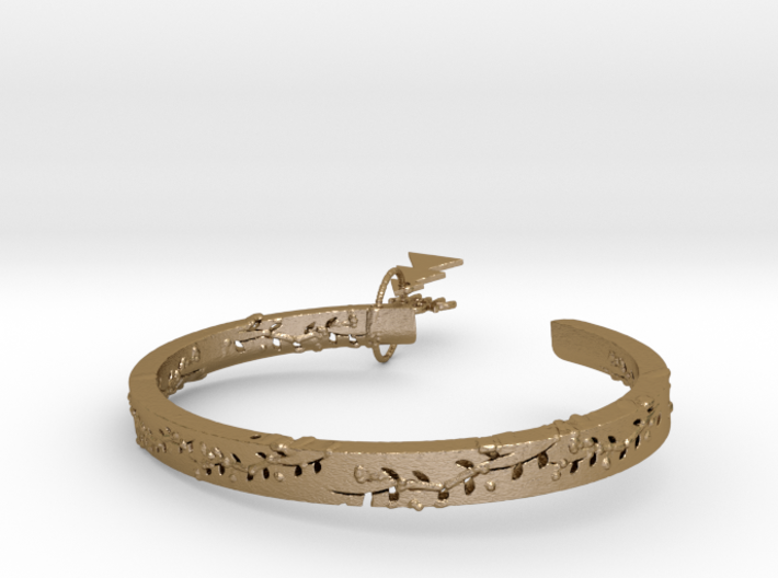 Forest Of The Hand Ring 3d printed
