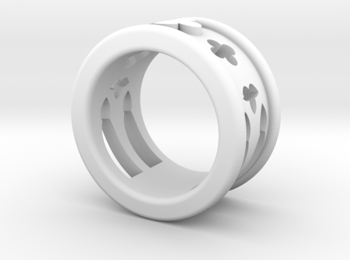 17 Cathedral Ring 3d printed