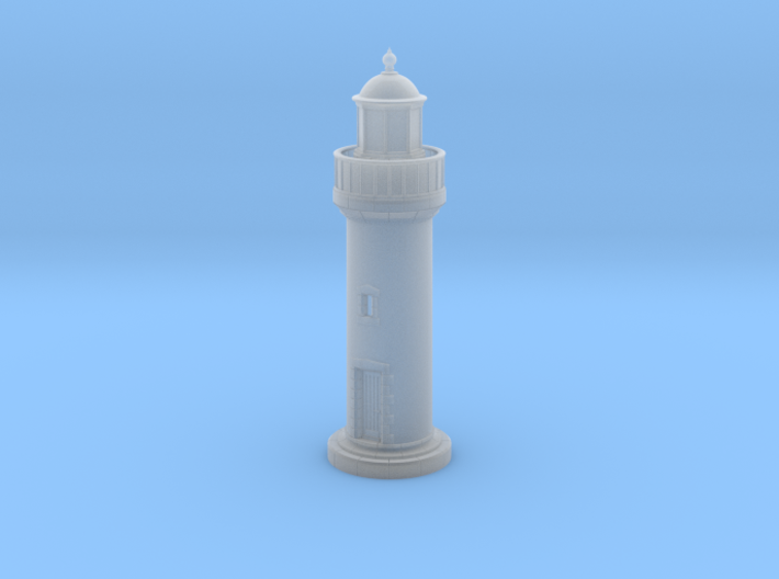 Npb10 - Small brittany lighthouse 3d printed