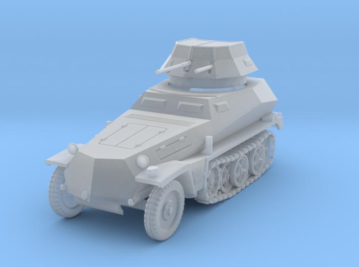 PV159B Sdkfz 250/9 2cm (1/100) 3d printed
