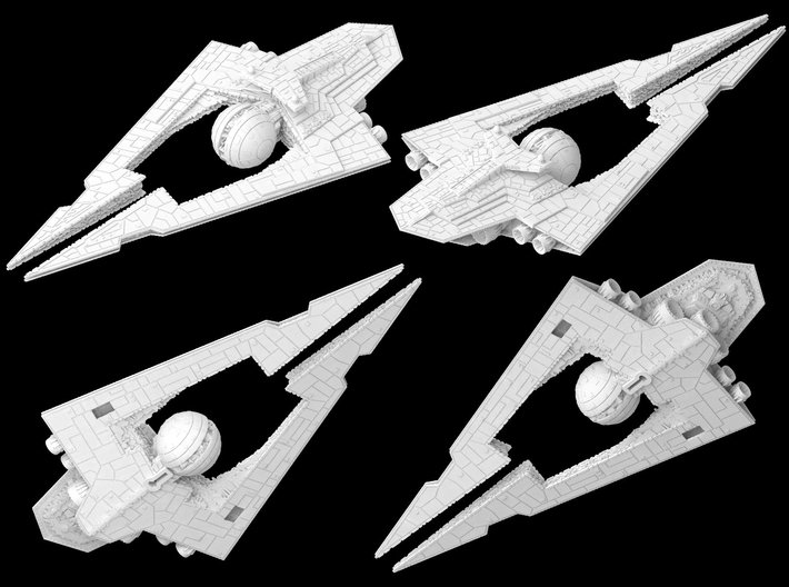 (Armada) Lucrehulk Star Destroyer 3d printed