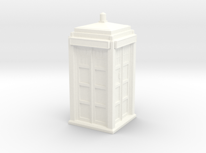 The Physician's Blue Box in 1/48 scale (Hollow) 3d printed