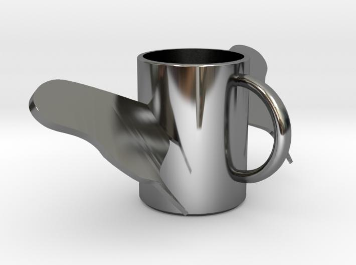butterfly mug .stl 3d printed