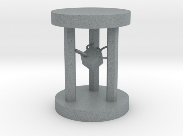 Hourglass table lamp 3d printed