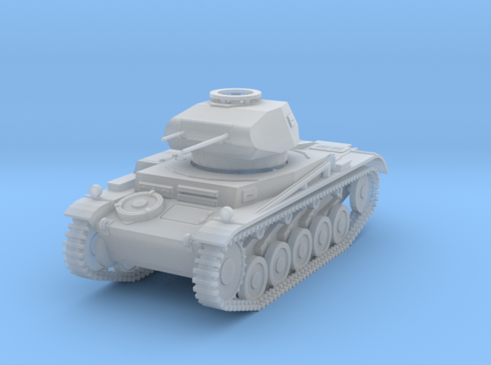 PV162C Pzkw IIF Light Tank (1/87) 3d printed