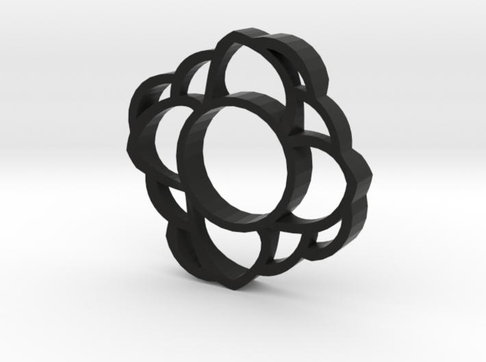 HSpinner Flower 3d printed