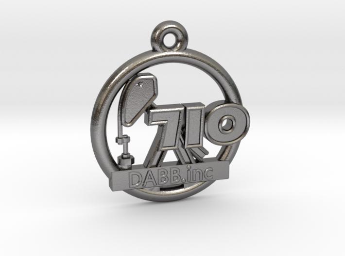 710 OIL Rig Pendant 001 3d printed