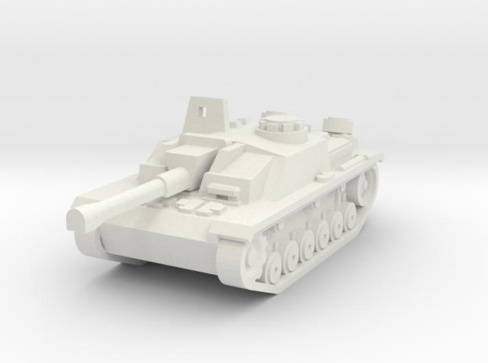 Stug III 3d printed