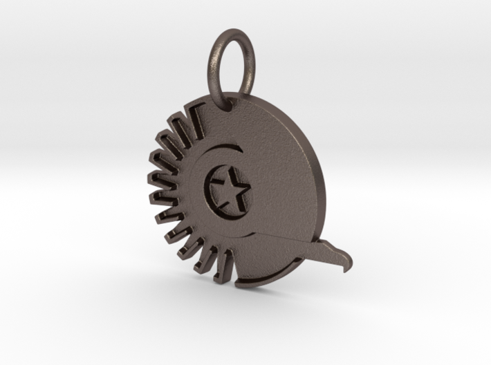 New Conglomerate Keychain 3d printed