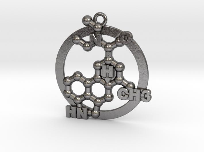Lsd Molecule 001 3d printed