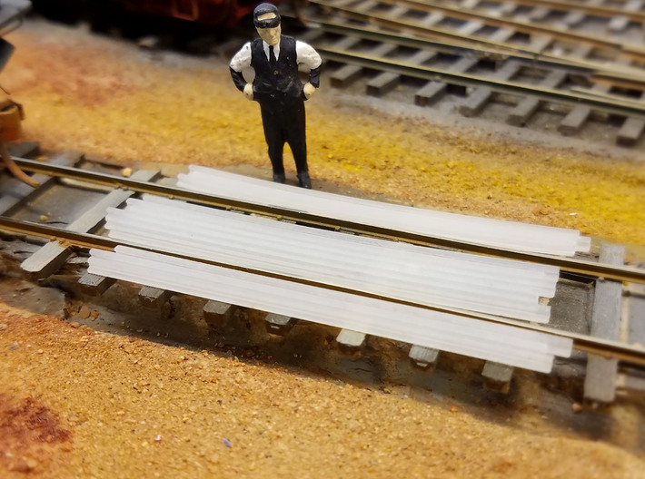 1-48 Cattle Guard 2016.12.30 3d printed