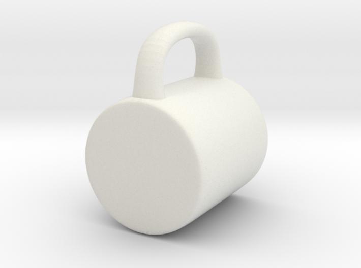 Coffee Mug for BJD: YOSD 1/6 scale 3d printed