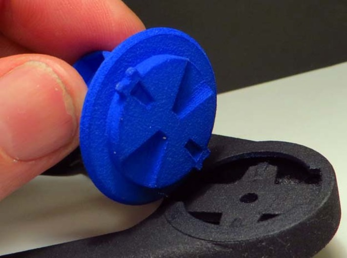 EDGE TO GOPRO ADAPTER 3d printed