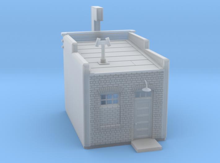 N-scale Buddys Waffle Shop 3d printed