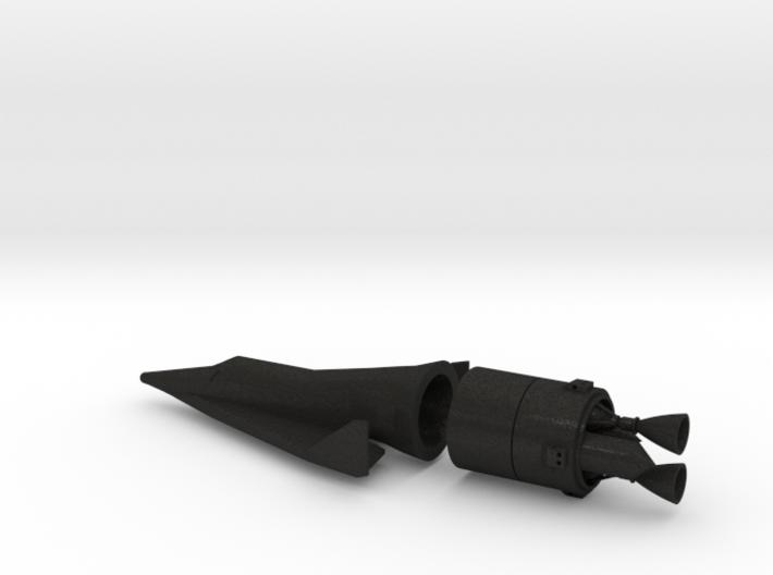 1/100 BOEING X-20 DYNA SOAR SPACE PLANE - ACRYLIC 3d printed