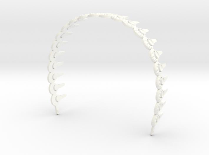 Padme Aqua Rhinestone Headband 3d printed