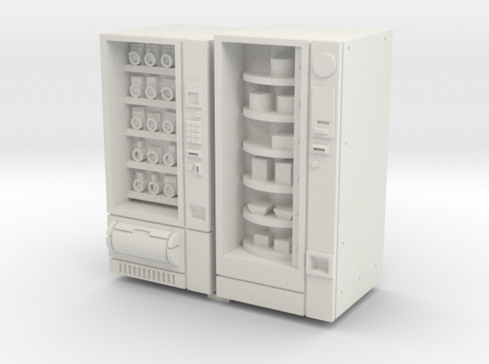 35mm Scale Snack And Food Vending Machine 3d printed
